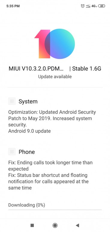 Ещё два смартфона Xiaomi получили обновление Android 9 Pie