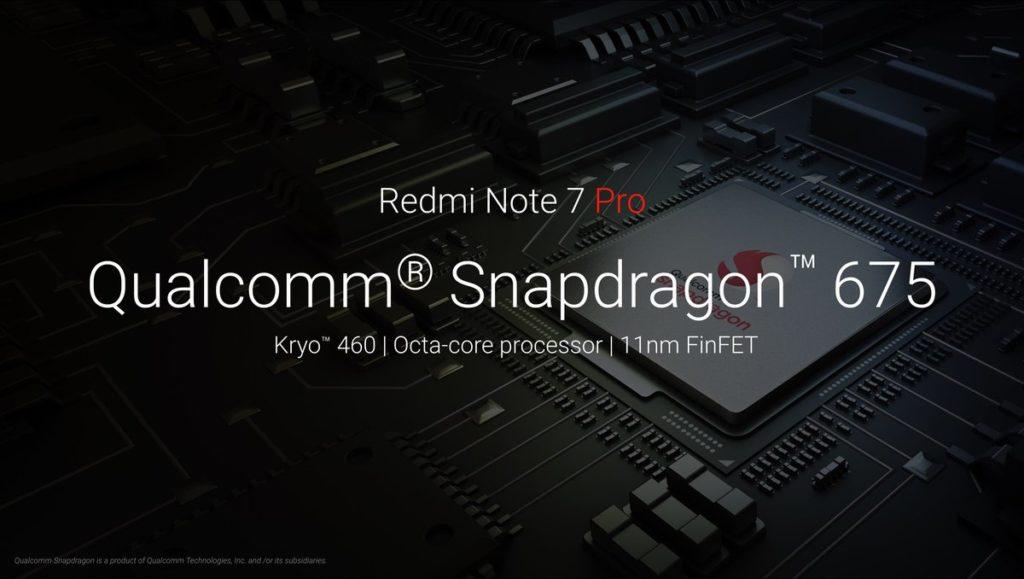 Redmi Note 7 Pro процессор