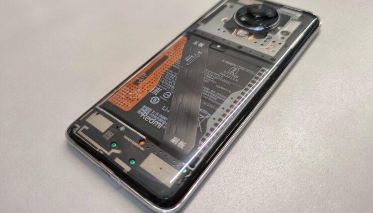 Прозрачный Redmi K30 Pro