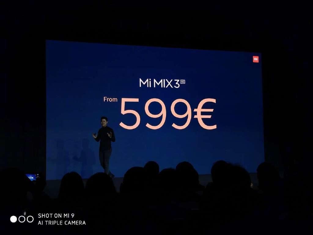 Цена Xiaomi Mi Mix 3 5G