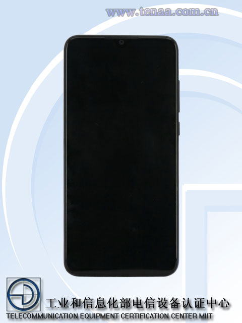 Новый смартфон на TENAA может быть Xiaomi Mi CC9