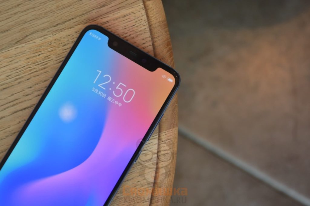 Передняя панель Xiaomi Mi 8