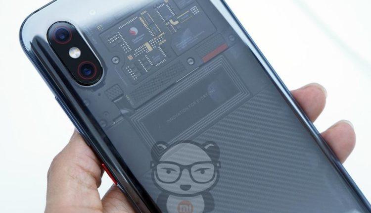 Xiaomi Mi 8 Explorer задняя панель