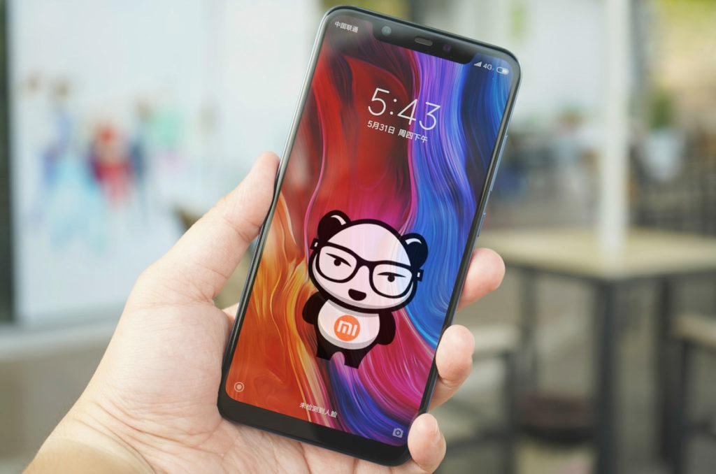 Xiaomi Mi 8 (экран)