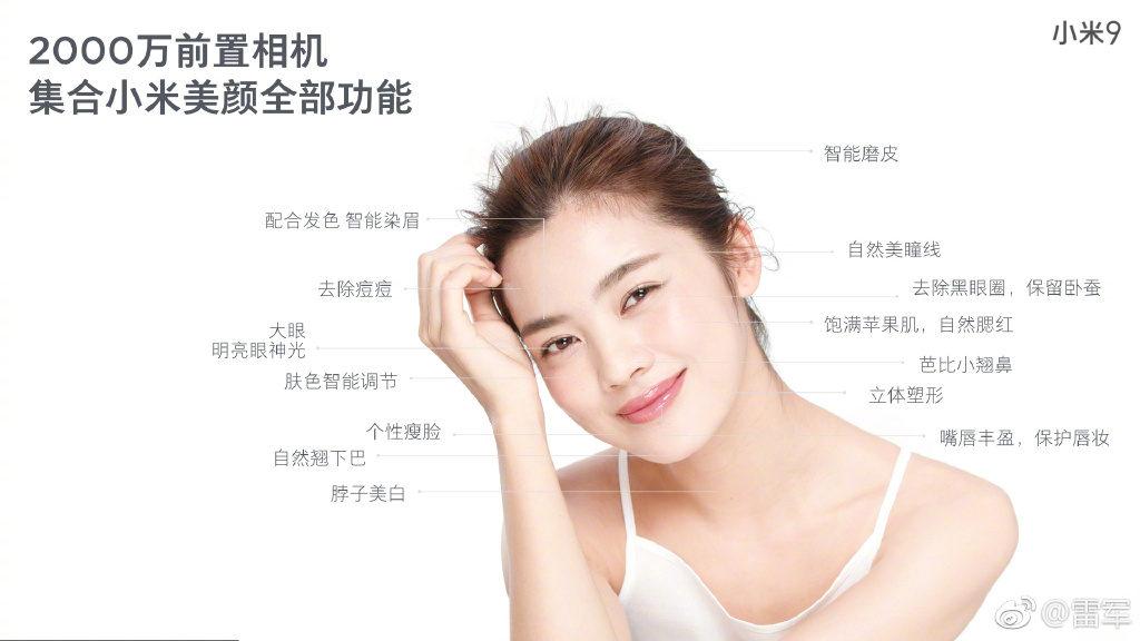 Камера Xiaomi Mi 9 и её особенности