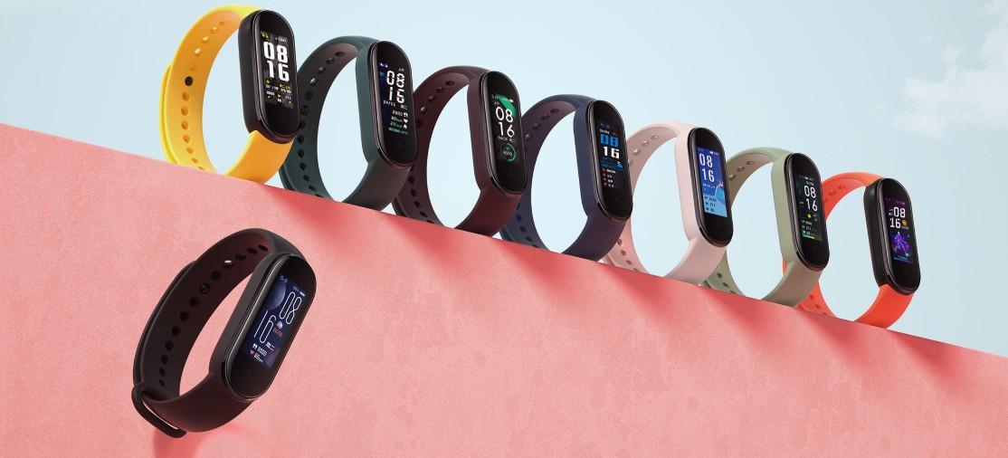 Xiaomi Mi Band 5 все цвета