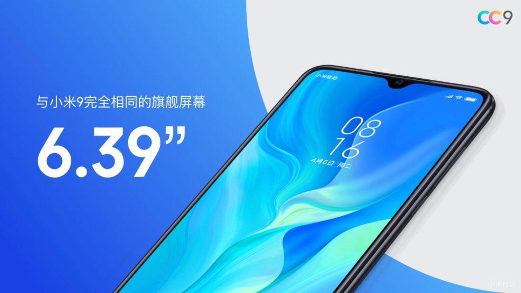 Xiaomi Mi CC9 официально представлен!